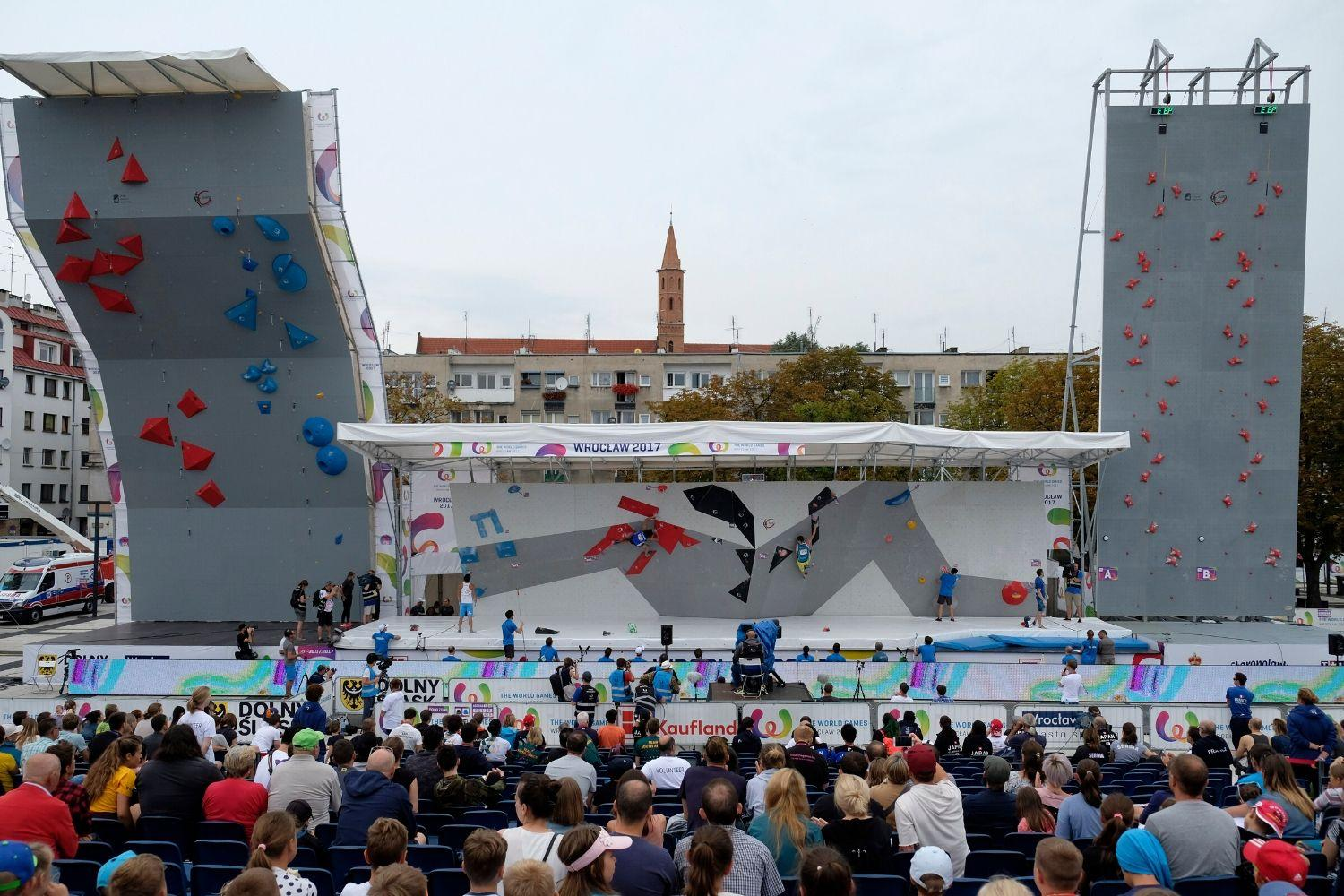 200708 IFSC News The World Games 2022 publish detalied sports programme