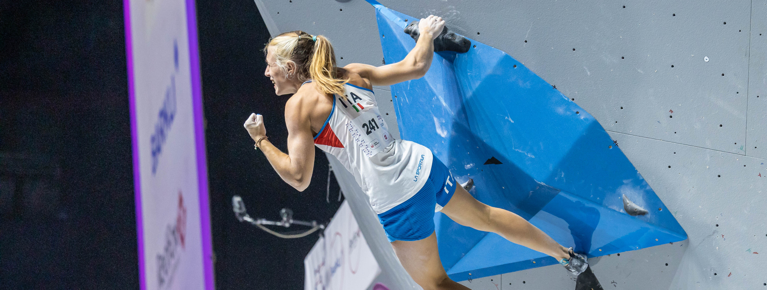 NATALIA GROSSMAN, CAMILLA MORONI LEAD THE PACK OF SIX CLIMBERS THAT WILL BATTLE FOR THE BOULDER WORLD TITLE