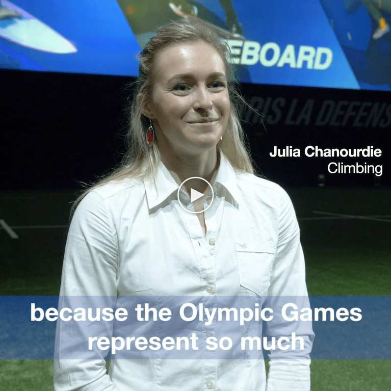 2024 Olympic Games Paris Proposal Julia Chanourdie France Crop