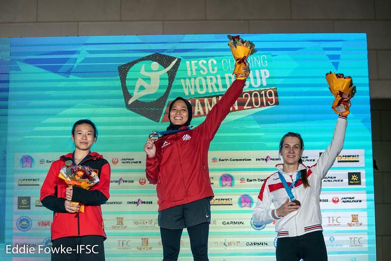 IFSC 2019 Xiamen Speed Women