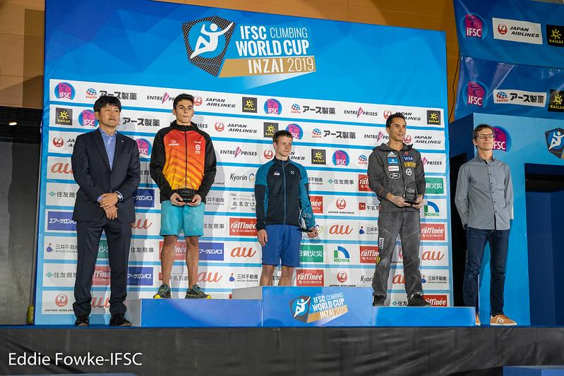 IFSC 2019 Lead Season Men Ranking