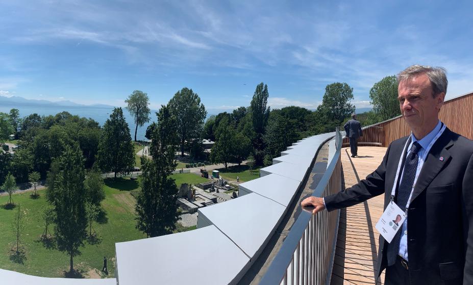 IFSC President Scolaris Olympic House 2019