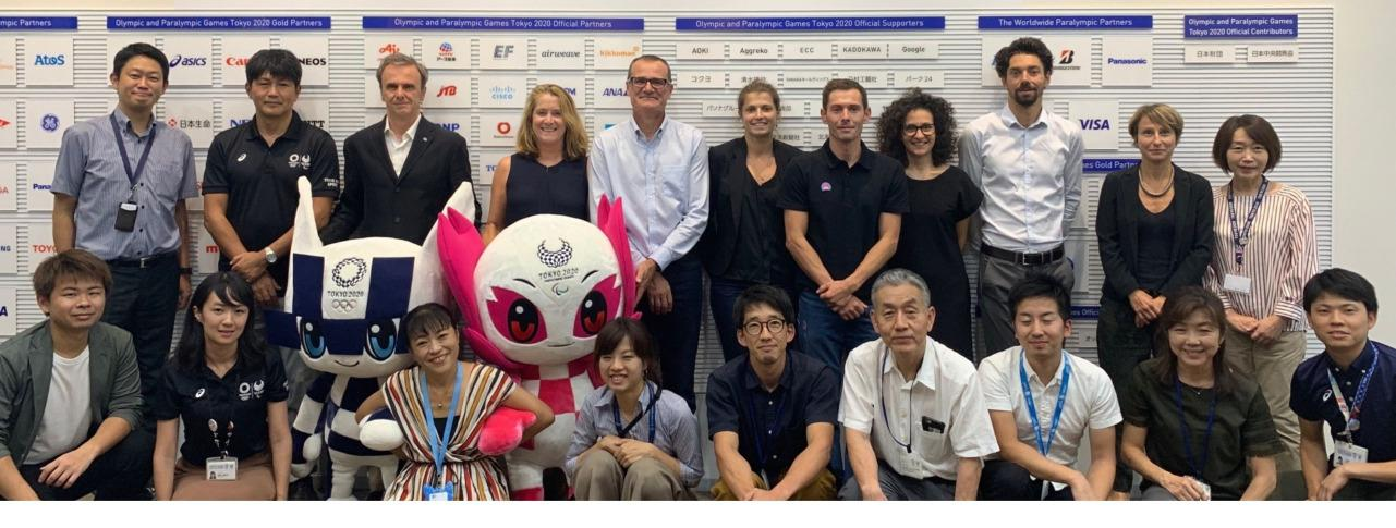 IFSC Meets with Tokyo 2020 Organisers in Japan