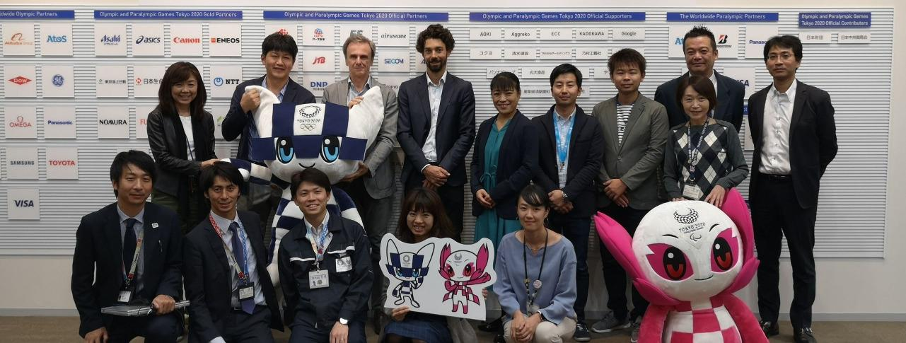 IFSC Meets with Tokyo 2020 Team in Japan