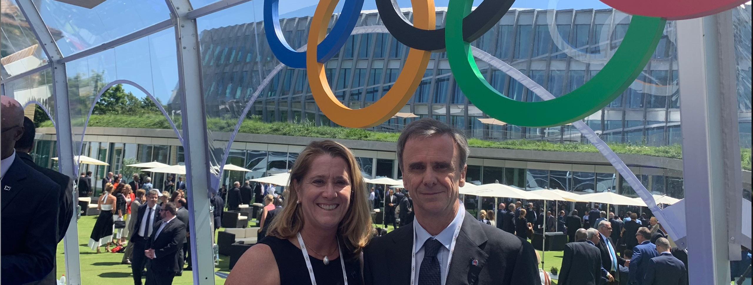 IFSC Attends IOC 125th Anniversary in Lausanne, Switzerland