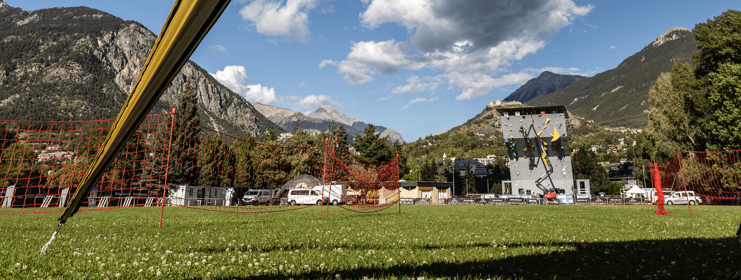 BRIANÇON IS READY TO HOST THE FIRST IFSC WORLD CUP OF THE SEASON