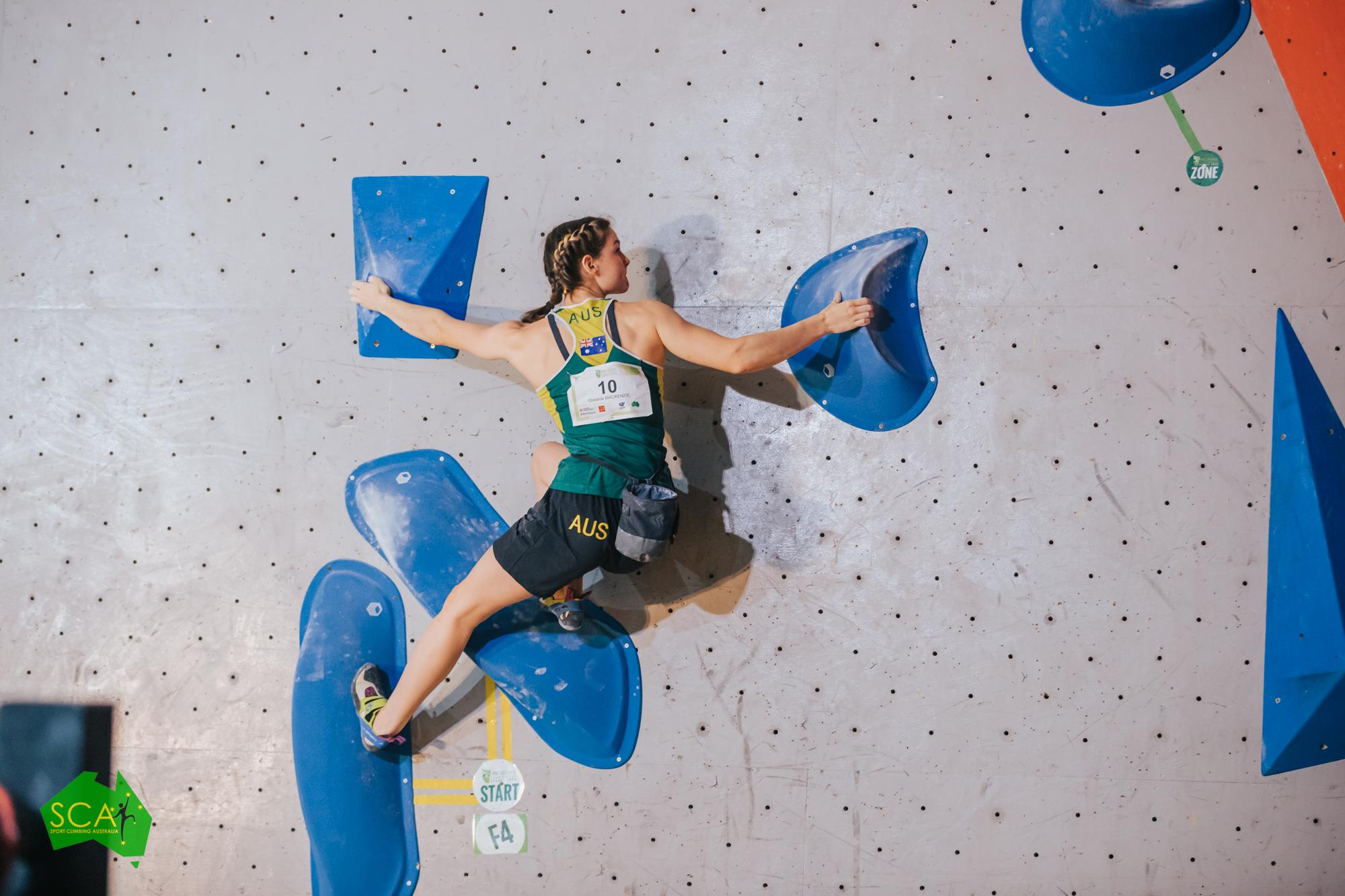 201220 IFSC News OHalloran and Mackenzie to represent Australia at Tokyo 2020