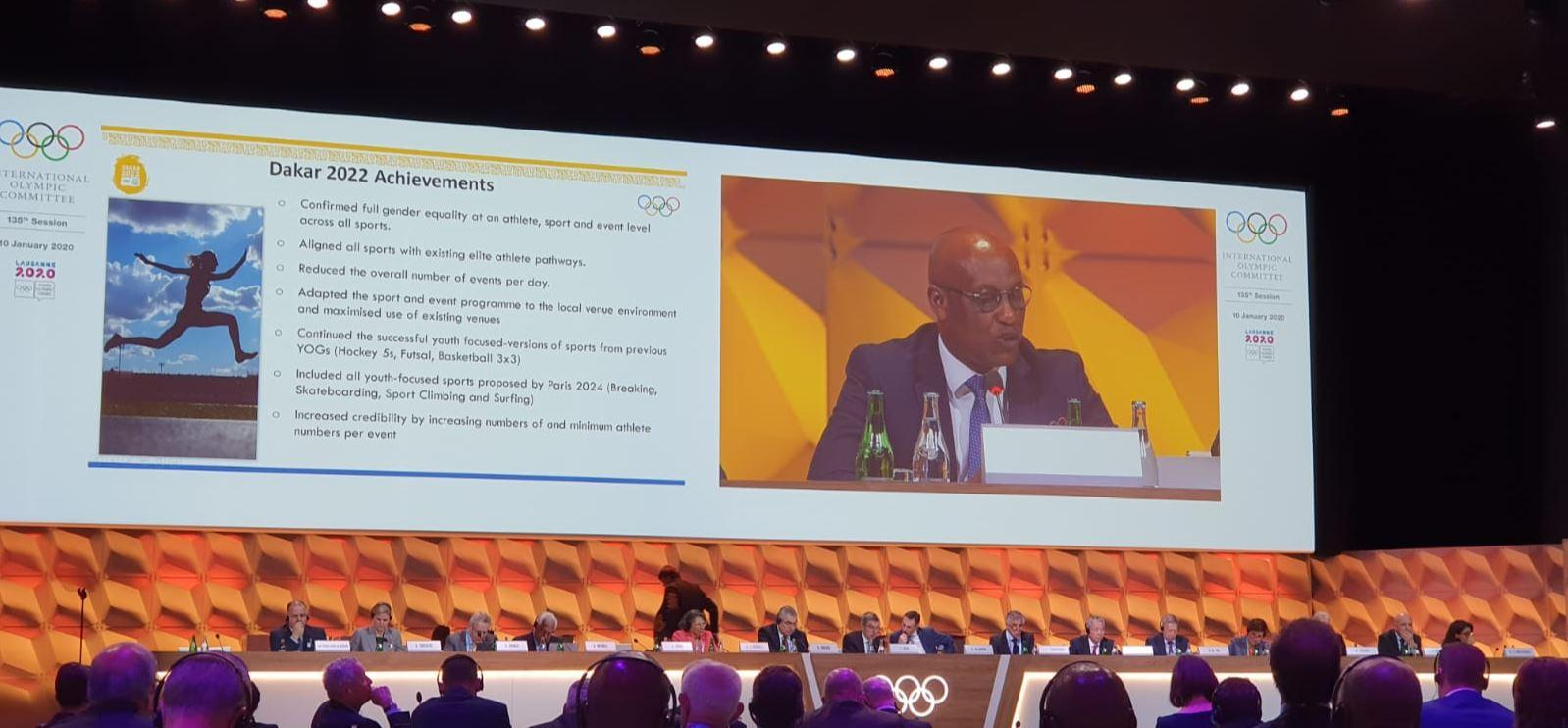 IFSC Attends IOC Session January 2020