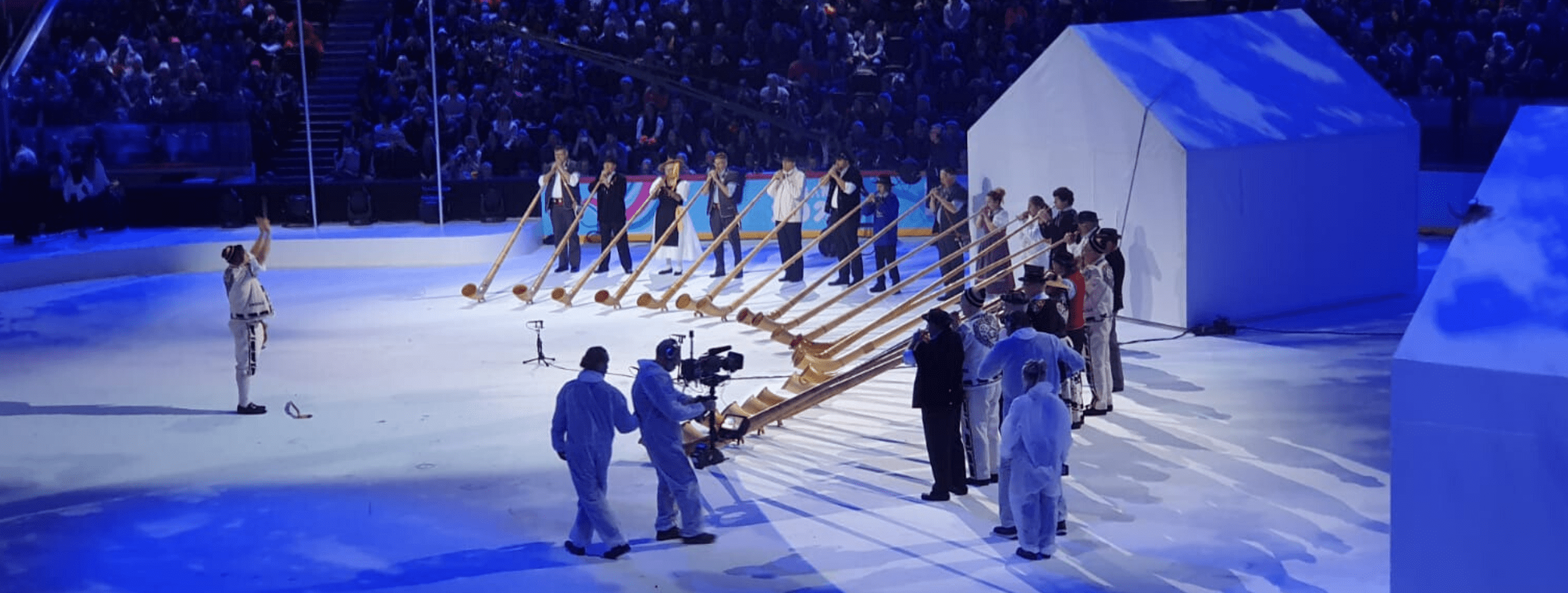 President Scolaris and IFSC Head of Olympic Coordination Attend YOG Opening Ceremony in Lausanne, Switzerland