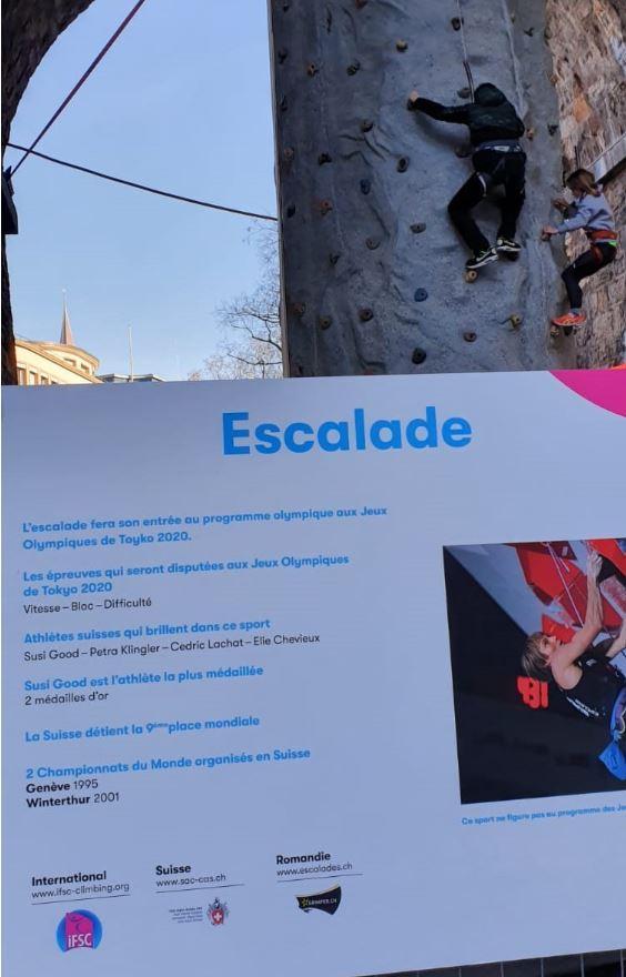IFSC Climbing Wall Lausanne
