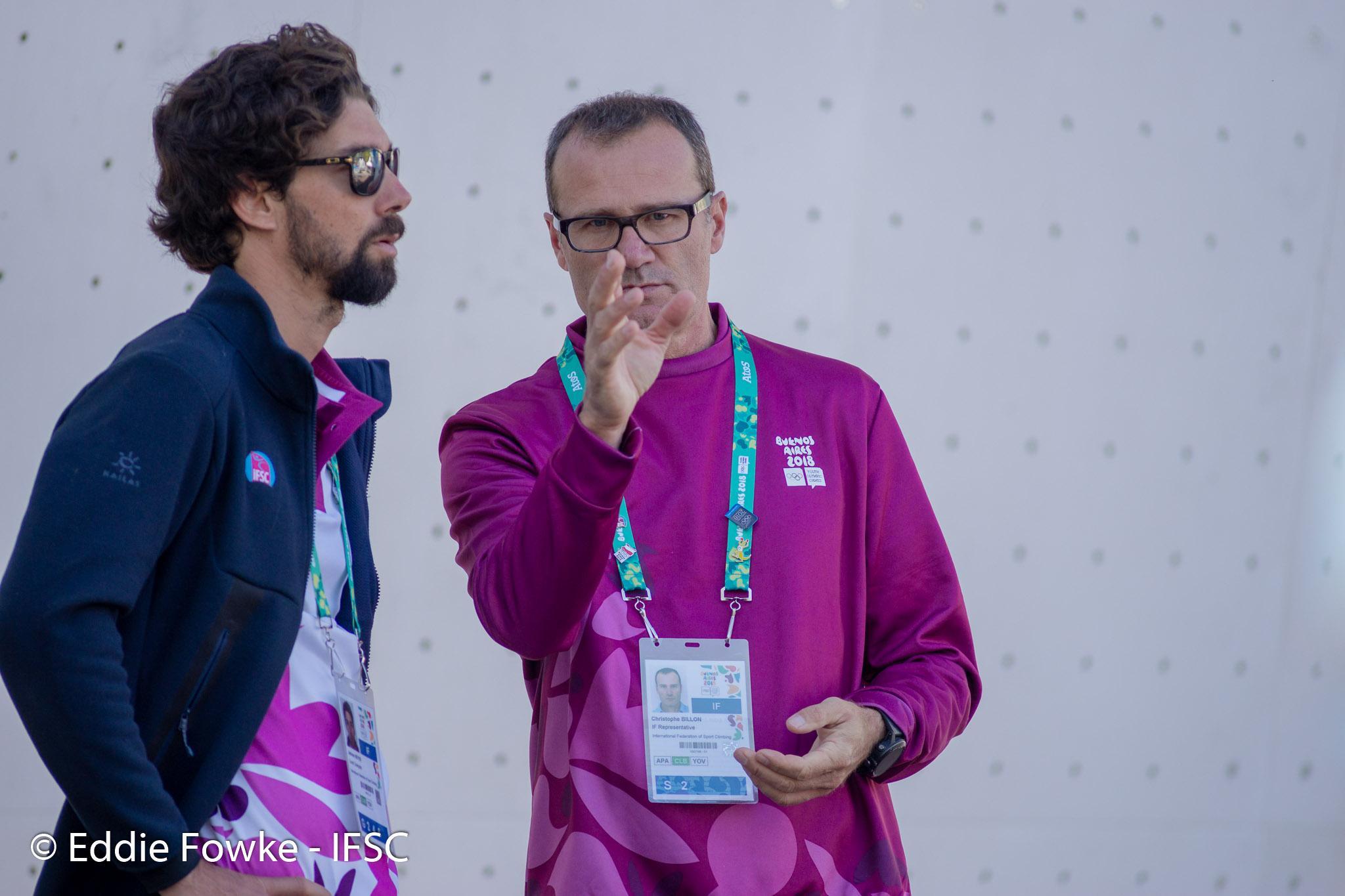 IFSC Officials 2020 Christophe 2