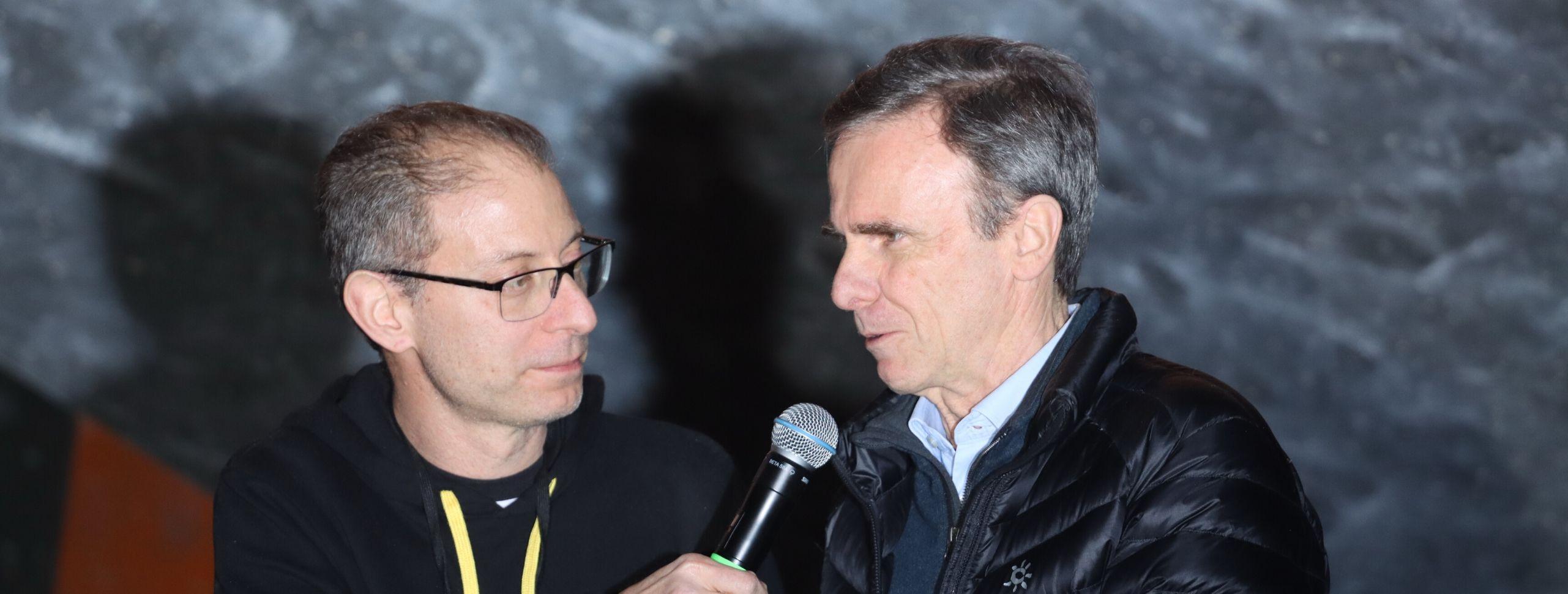 IFSC President Attends Milan Climbing Expo