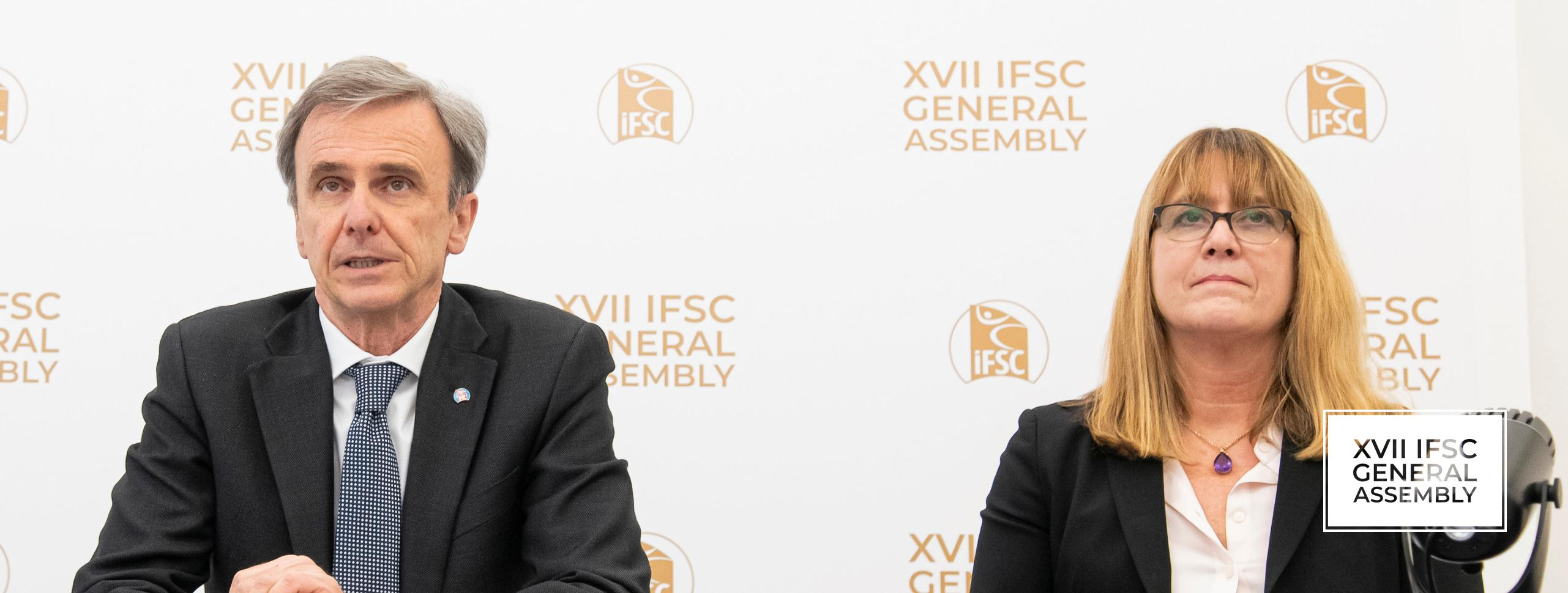 MARCO SCOLARIS AND DEBRA GAWRYCH TO LEAD IFSC UNTIL 2025