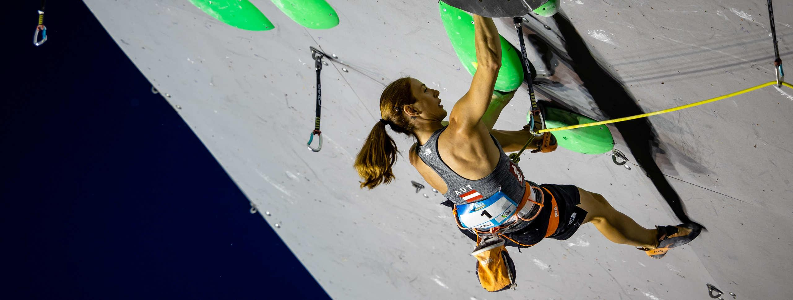 IFSC PARACLIMBING WORLD CUP, BOULDER AND LEAD WORLD CUP IN INNSBRUCK CONFIRMED