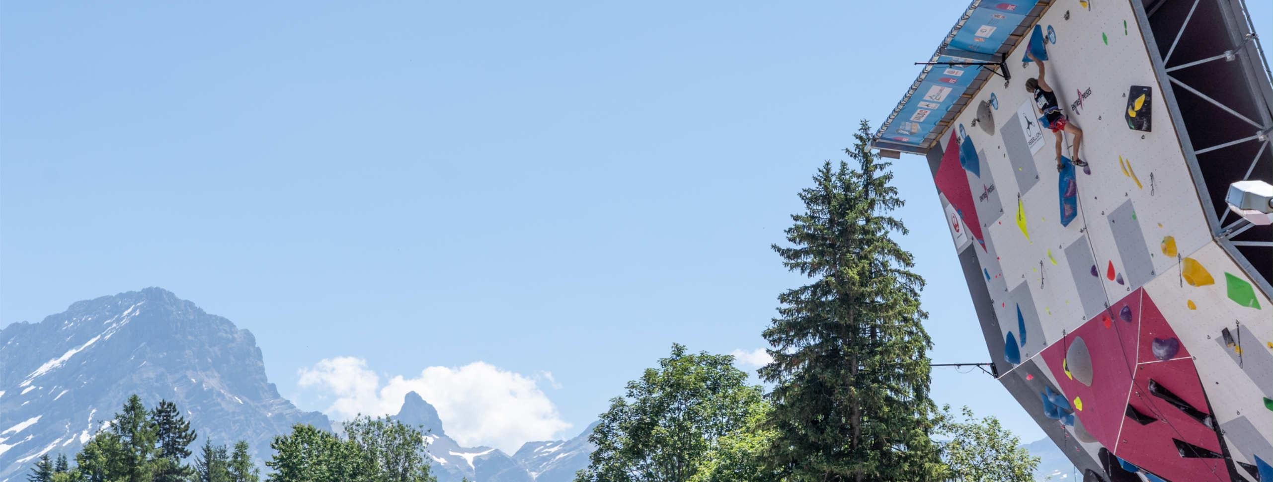 IFSC LEAD AND SPEED WORLD CUP IN VILLARS, SWITZERLAND CONFIRMED