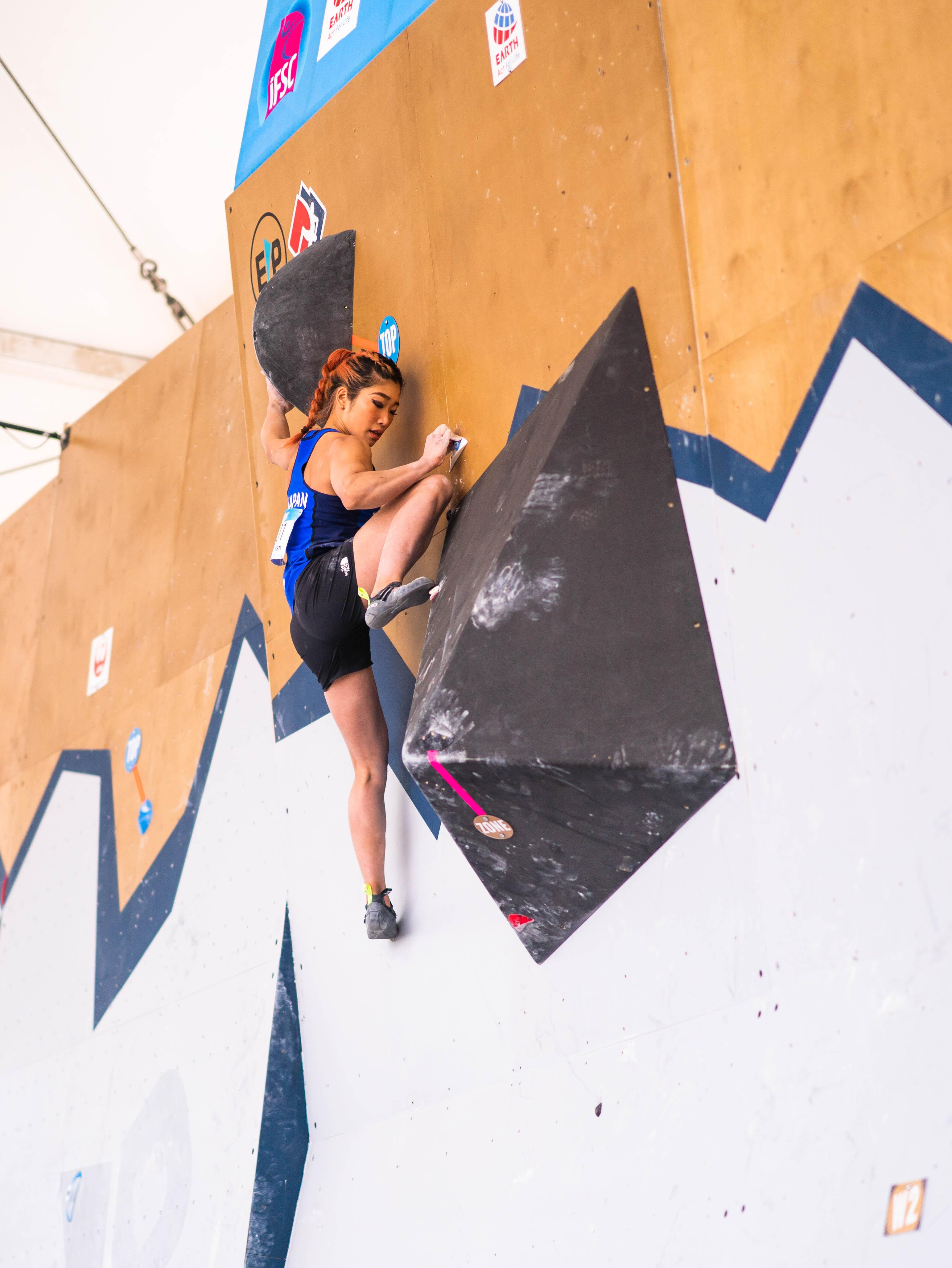 210521 IFSC News Nonaka flies into womens semi final in first place