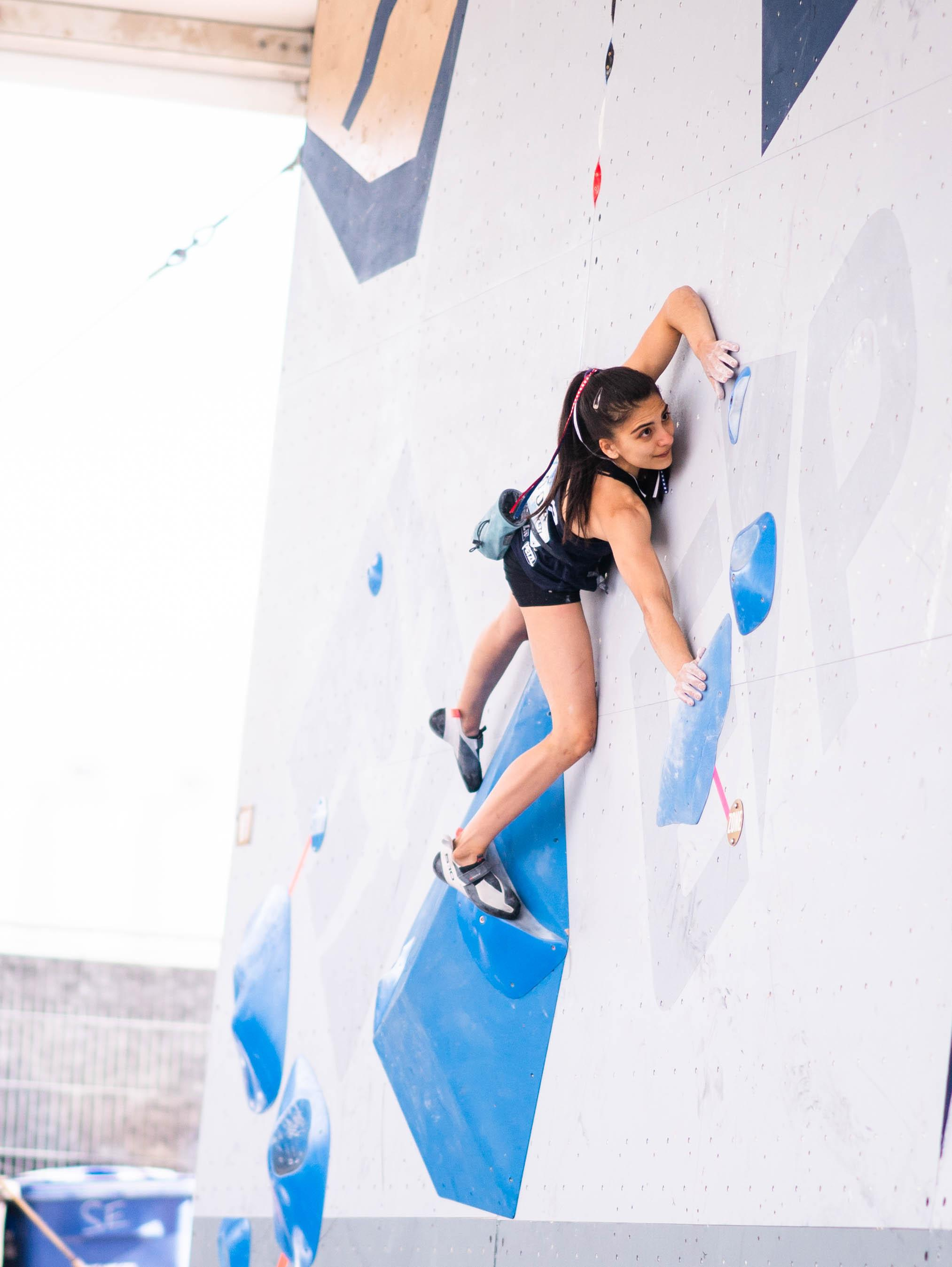 210522 IFSC News Grossman and Fujii lead the way into the womens and mens finals in Salt Lake City
