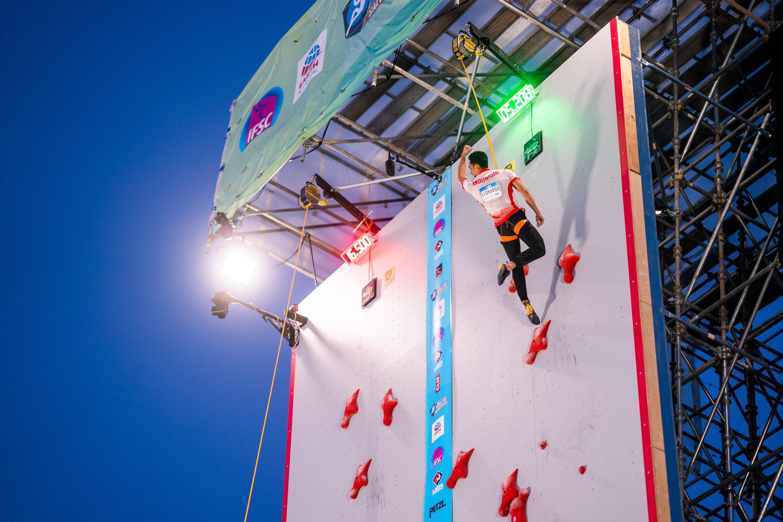210528 IFSC News Leonardos masterpiece is worth a new Speed world record Miroslaw grabs womens gold