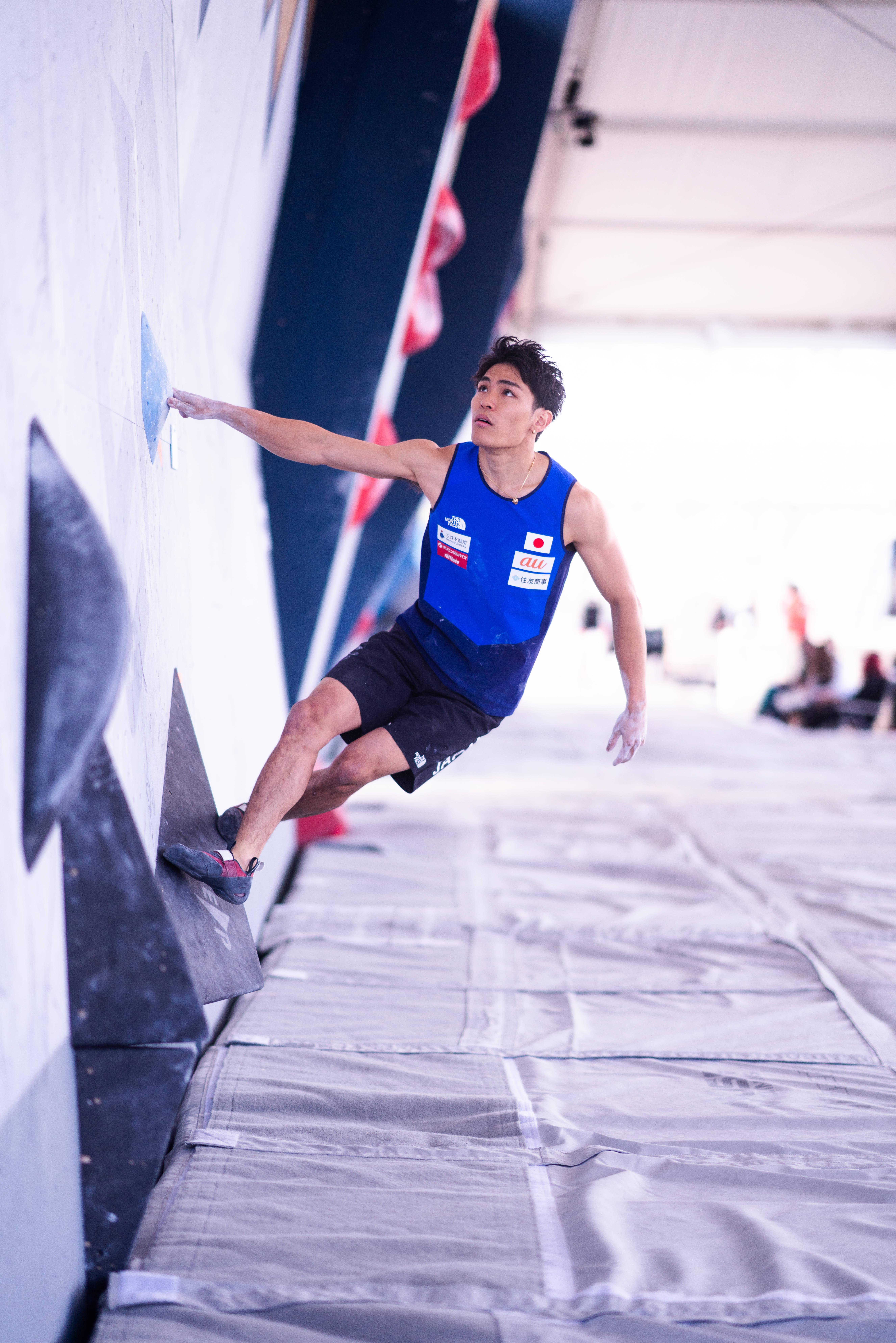 210529 IFSC News Team Japan leads the way into the mens boulder semi final in Salt Lake City