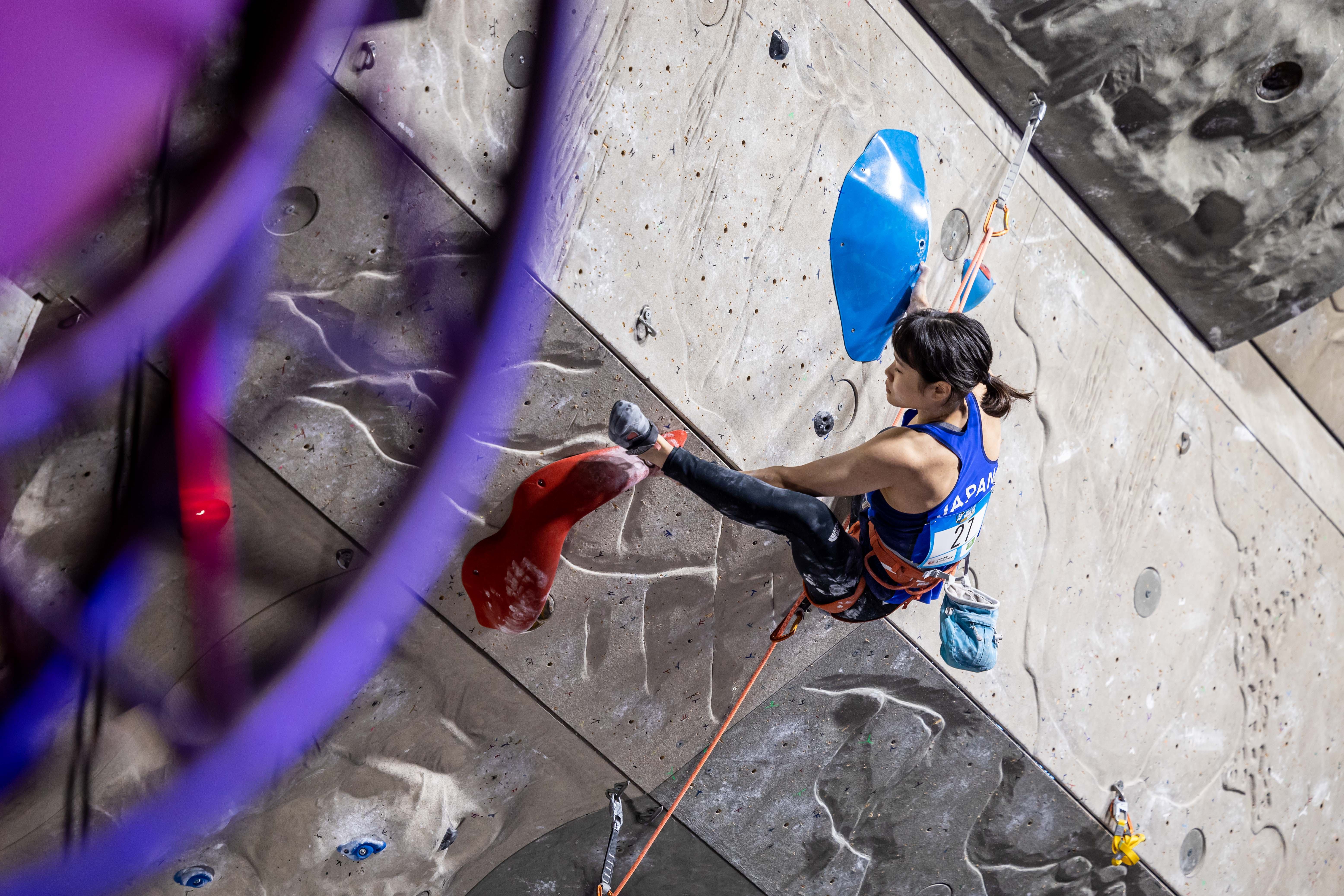 210903 IFSC News Kotake Seo Rogora share the top position in the womens Lead qualification round