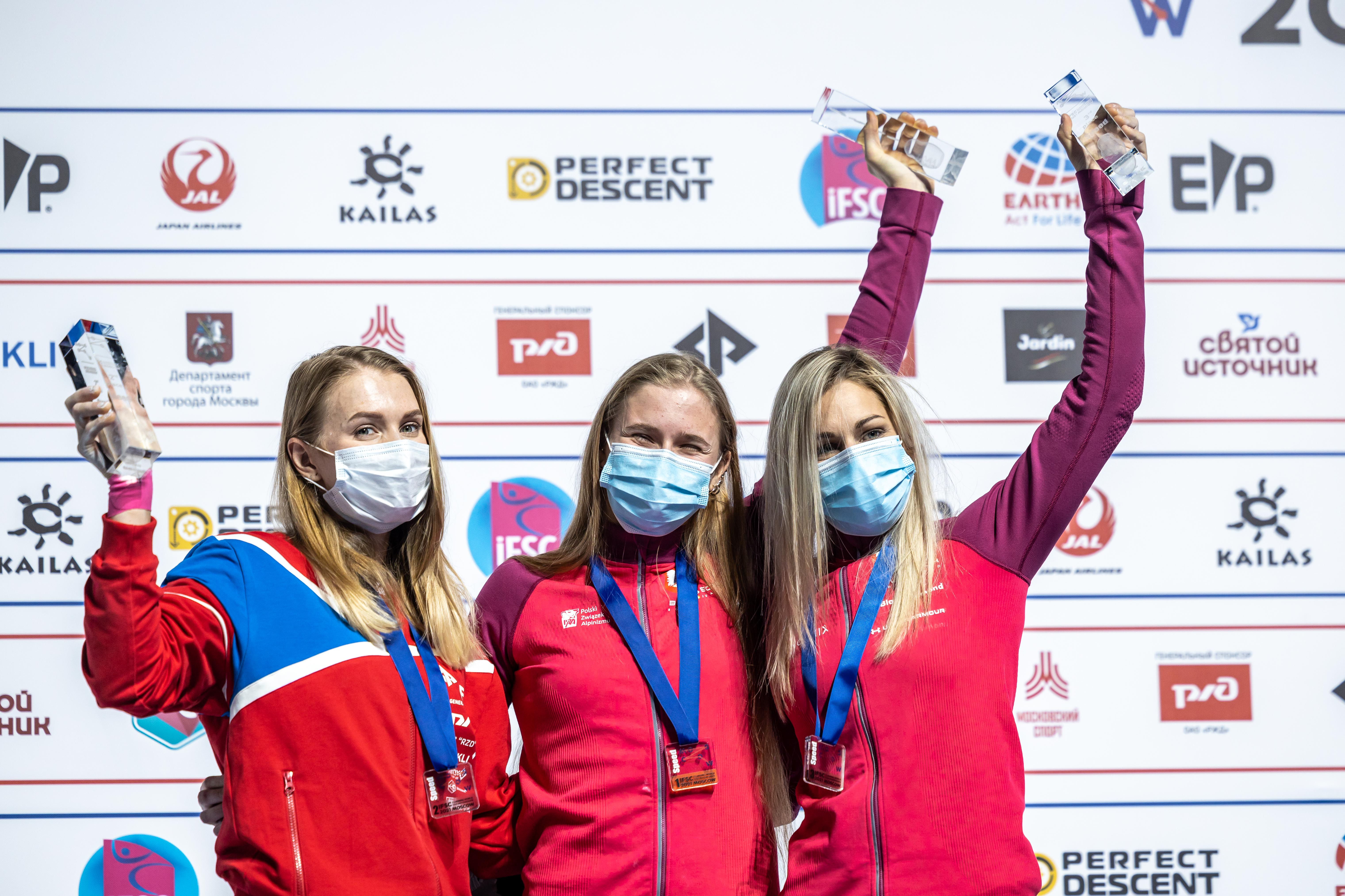 210916 IFSC News Danyil Boldyrev and Natalia Kalucka are the fastest climbers in the world 2
