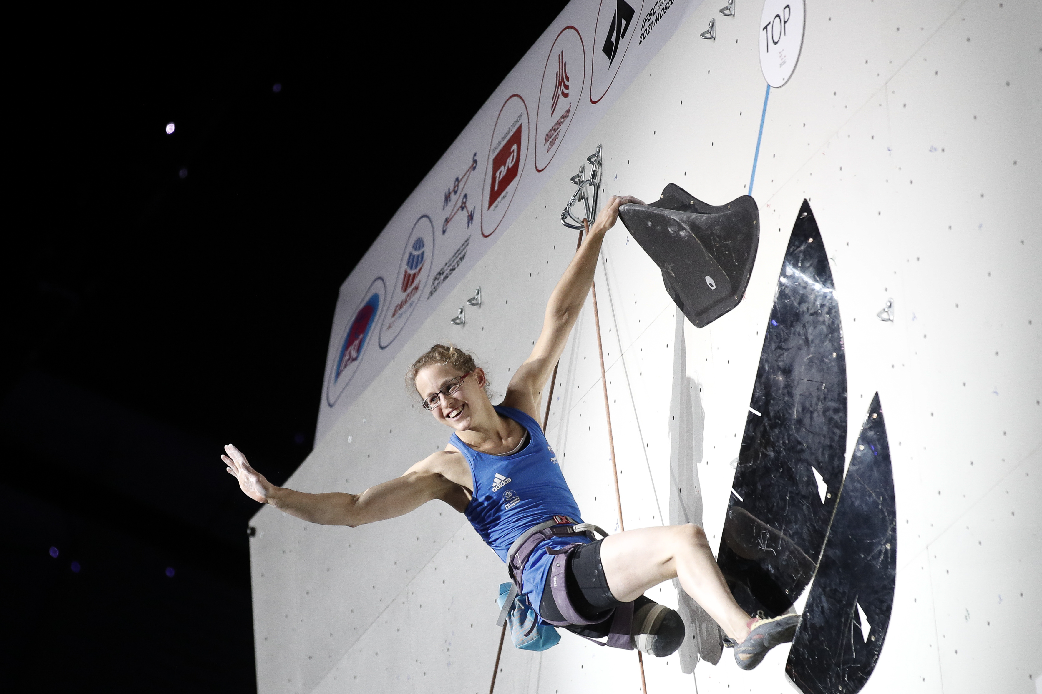 210917 IFSC News Great Britain Belgium and France claim womens Paraclimbing world titles in Moscow