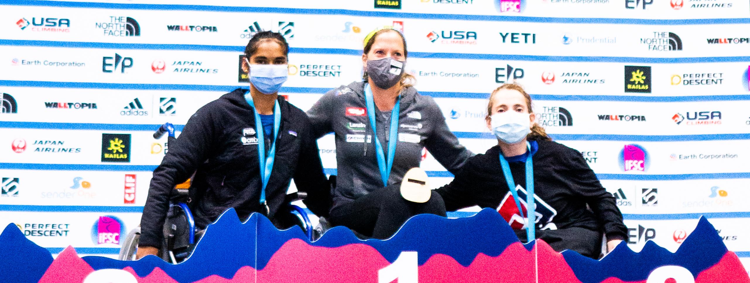 JAPAN, USA, AUSTRIA, BELGIUM, FRANCE AND ISRAEL WIN PARACLIMBING GOLD IN LOS ANGELES
