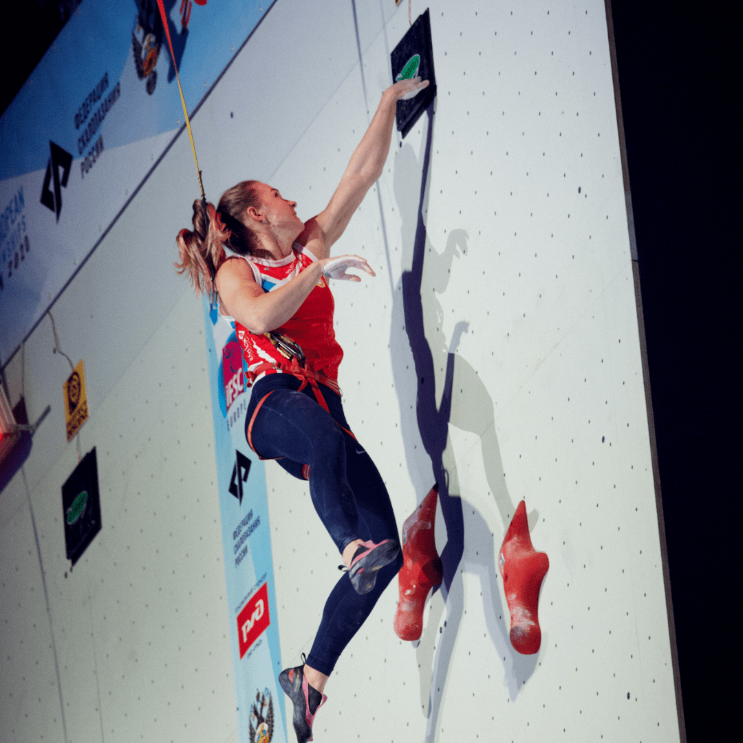 IFSC Iuliia Kaplina European Speed Record Moscow 2020
