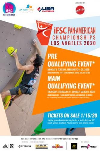 IFSC Pan Am - Continental Championships (C) - Los Angeles (USA) 2020
