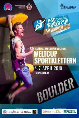 IFSC Climbing Worldcup (B) - Meiringen (SUI) 2019