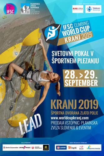 IFSC Climbing Worldcup (L) - Kranj (SLO) 2019