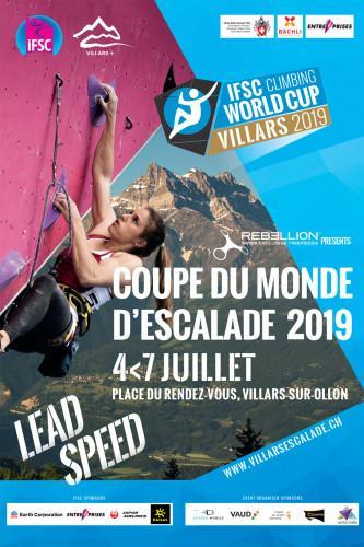 IFSC Climbing Worldcup (L, S) - Villars (SUI) 2019