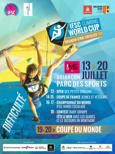 IFSC Climbing Worldcup (L) - Briançon (FRA) 2019