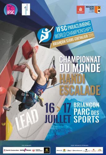 IFSC Paraclimbing World Championships - Briançon (FRA) 2019